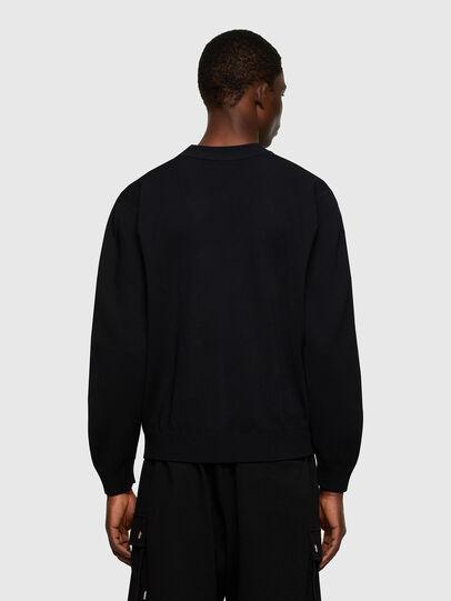 Diesel - K-OREGON BLACK, Black - Knitwear - Image 2