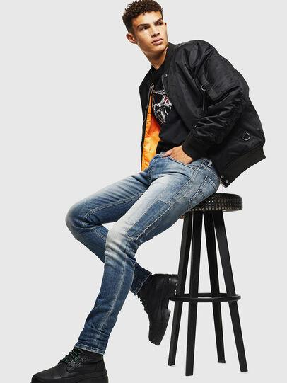 Diesel - Sleenker 0098D, Light Blue - Jeans - Image 5