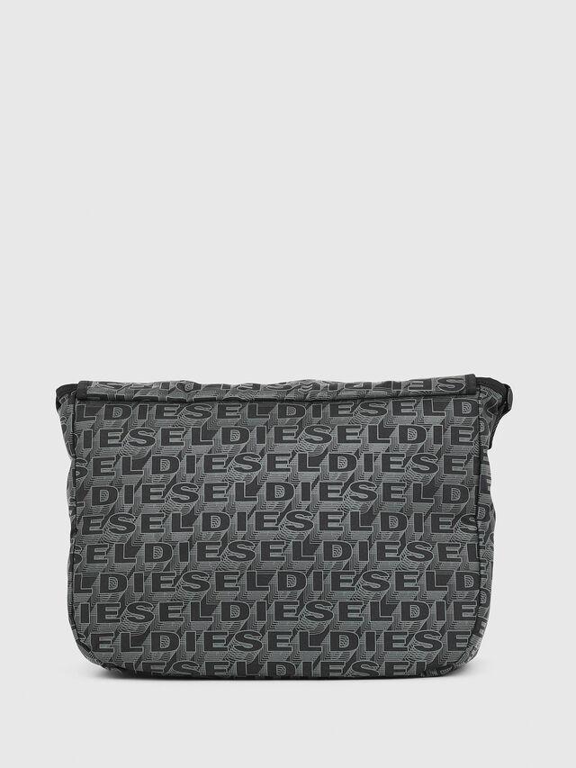 Diesel - F-DISCOVER MESSENGER, Black/Green - Travel Bags - Image 2