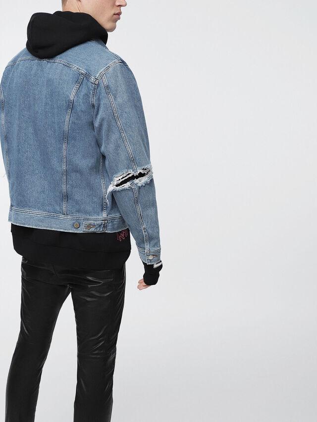 Diesel D-ROBYN, Blue Jeans - Denim Jackets - Image 2