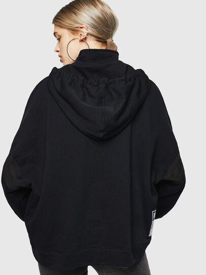 Diesel - F-AVAL, Black - Sweaters - Image 2