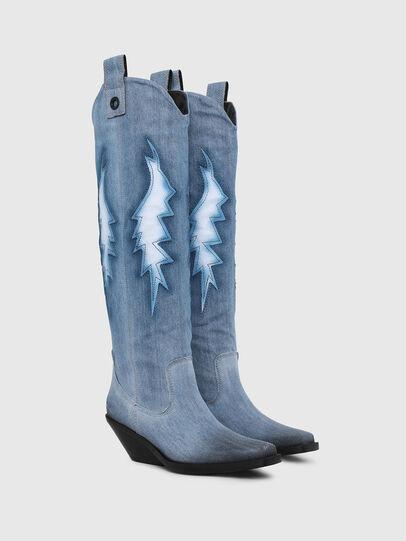 Diesel - D-GIUDECCA MHB, Blue Jeans - Boots - Image 2