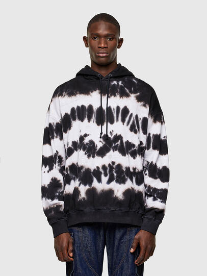 Diesel - S-UMMER-A83, Black/White - Sweaters - Image 1