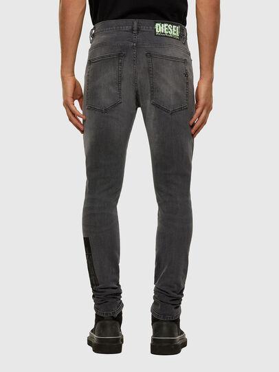 Diesel - D-Amny 009GL, Black/Dark grey - Jeans - Image 2