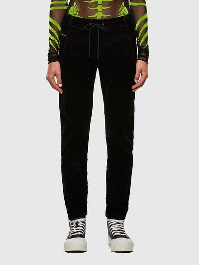 Diesel - Krailey JoggJeans® 069TB, Black/Dark grey - Jeans - Image 1