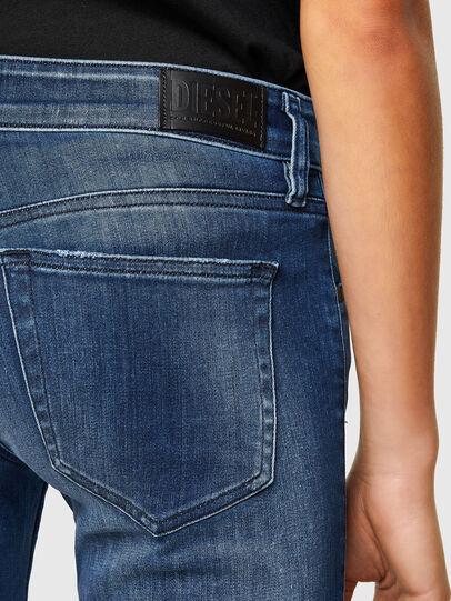Diesel - Slandy Low 009FE, Dark Blue - Jeans - Image 5