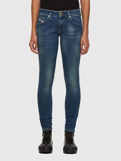 Diesel - Slandy Low 069KW, Dark Blue - Jeans - Image 1