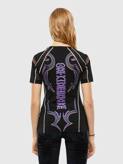 Diesel - T-TAJO, Black - T-Shirts - Image 2