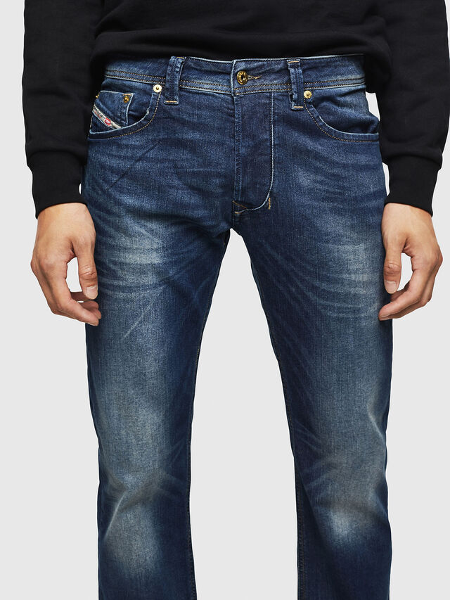 Diesel Larkee 0853R, Dark Blue - Jeans - Image 3