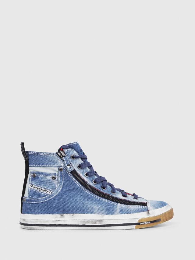 Diesel - EXPO-ZIP W, Blue Jeans - Sneakers - Image 1