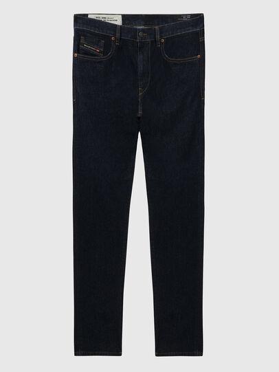 Diesel - D-Strukt A09HF, Dark Blue - Jeans - Image 1