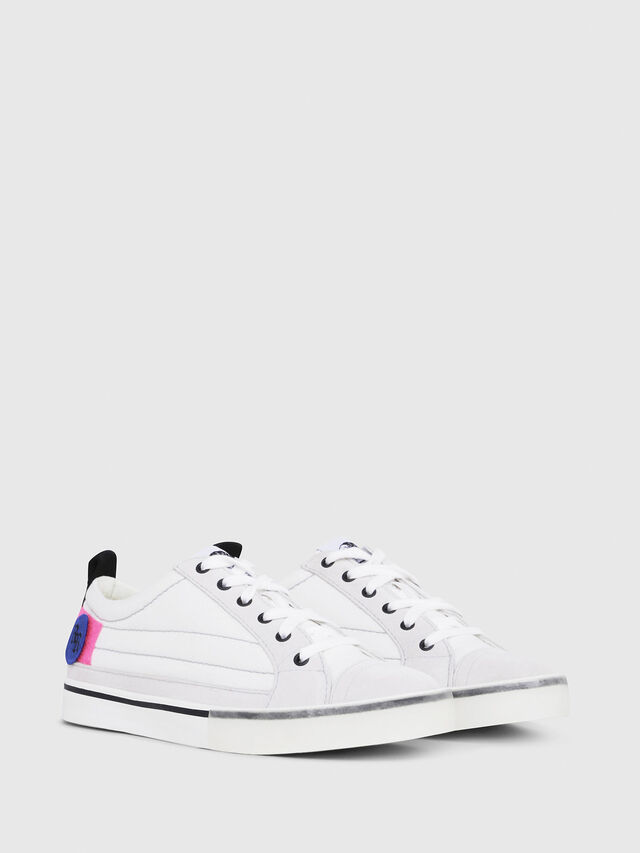 Diesel - D-VELOWS LOW PATCH W, White - Sneakers - Image 2