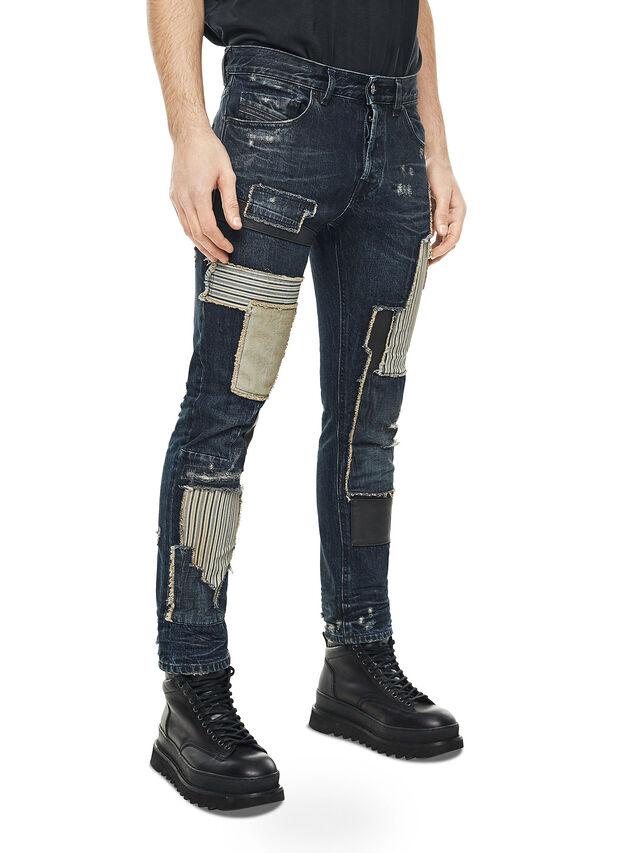 Diesel - TYPE-2813D, Dark Blue - Jeans - Image 3