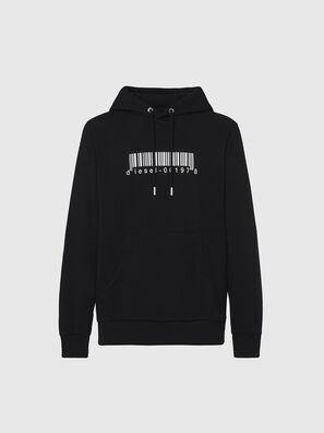 S-GIRK-HOOD-X2, Black - Sweaters