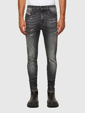 D-Istort 009EX, Black/Dark grey - Jeans