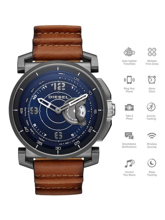 Diesel DT1003, Brown - Smartwatches - Image 1