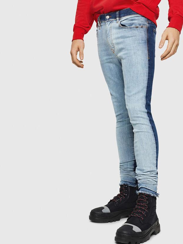 D-Istort 085AU, Medium blue - Jeans