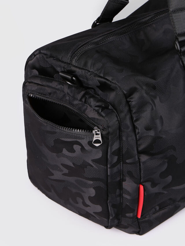 Diesel F-DISCOVER DUFFLE, Black - Travel Bags - Image 4