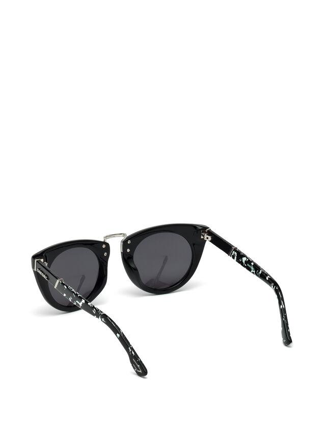 Diesel - DL0211, Black - Sunglasses - Image 2