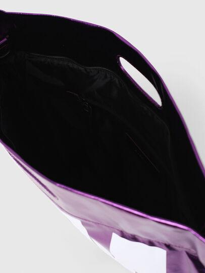 Diesel - F-LITT-HER M, Violet - Shopping and Shoulder Bags - Image 4