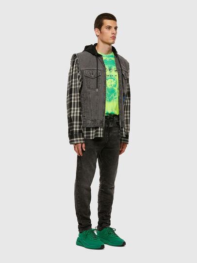 Diesel - D-VIDER JoggJeans® 009FZ, Black/Dark grey - Jeans - Image 5