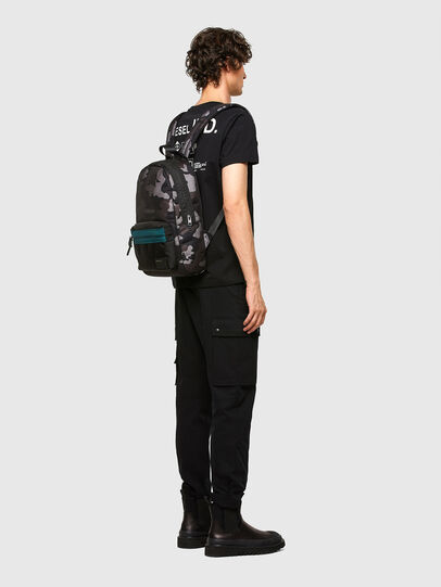 Diesel - MIRANO, Blue/Grey - Backpacks - Image 6