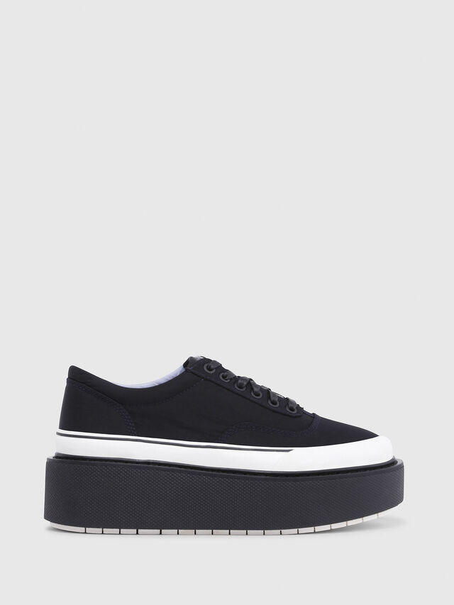 Diesel - H-SCIROCCO LOW, Black - Sneakers - Image 1