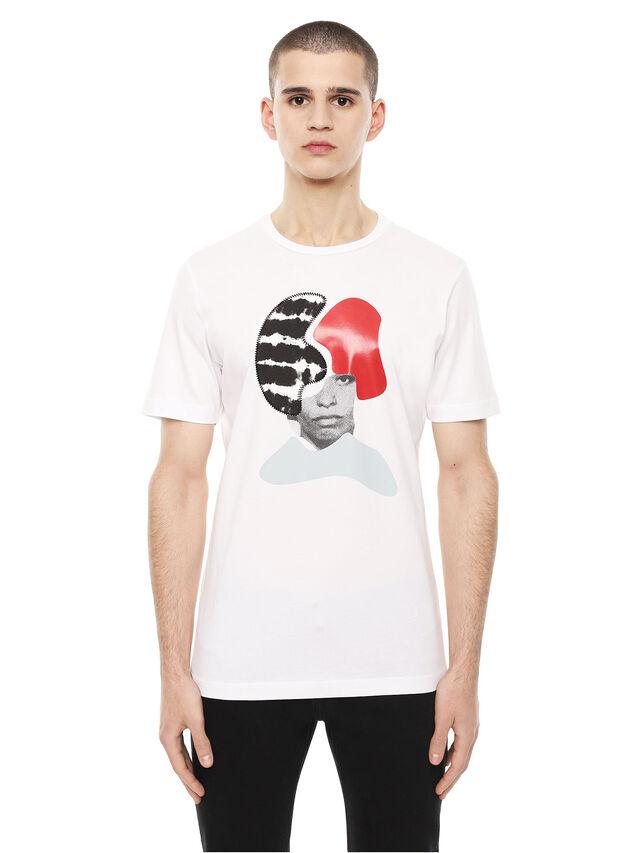 Diesel - TY-ARPDAVIS, White - T-Shirts - Image 1