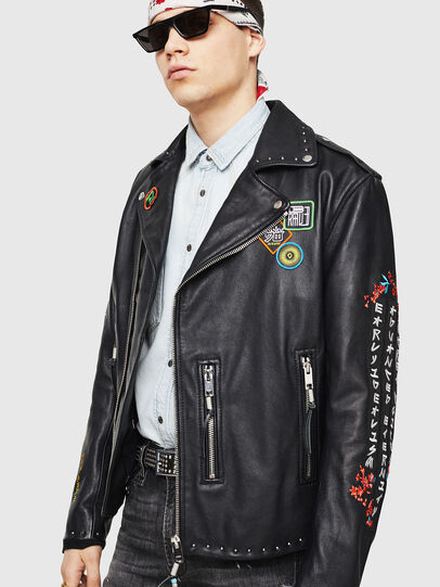 Diesel - L-JUNER,  - Leather jackets - Image 1