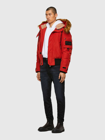 Diesel - W-JAME, Red - Winter Jackets - Image 6