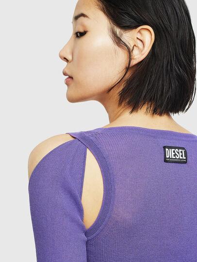Diesel - K-SIMONA, Violet - Knitwear - Image 3
