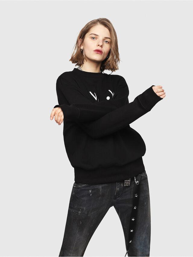 Diesel - CL-SNOR, Black - Sweaters - Image 2