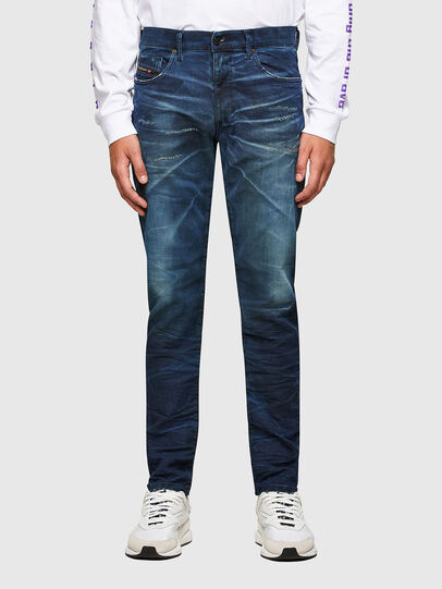 Diesel - D-Strukt JoggJeans® 069SE, Medium blue - Jeans - Image 1