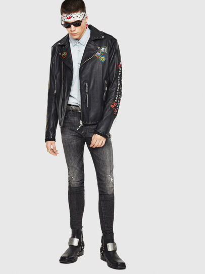 Diesel - L-JUNER,  - Leather jackets - Image 5