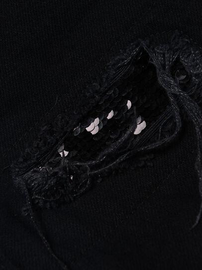 Diesel - WIDEE-J-SP, Black - Jeans - Image 3