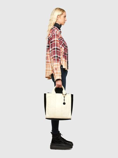 Diesel - HAUNYA, White - Shopping and Shoulder Bags - Image 6
