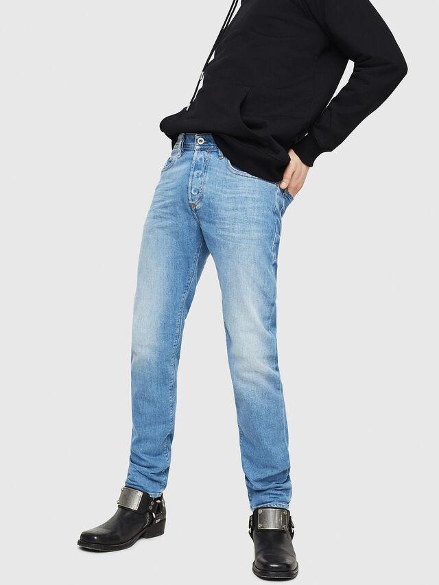 Diesel - Buster 087AQ, Light Blue - Jeans - Image 1