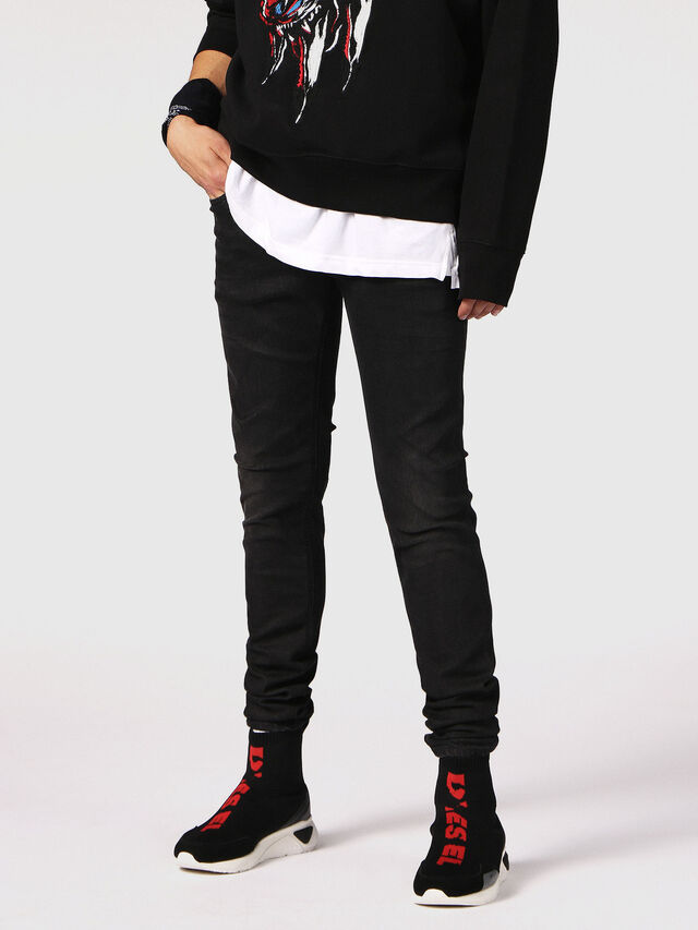 SLEENKER 084SB, Black Jeans