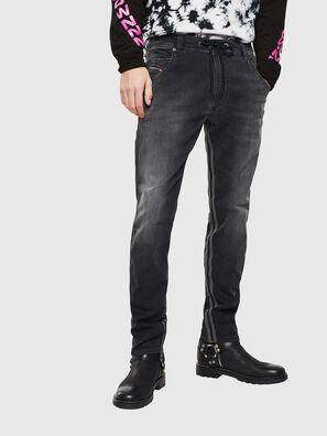 Krooley JoggJeans 0094Q, Black/Dark grey - Jeans