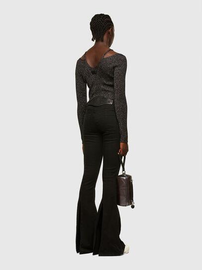 Diesel - M-AMBER, Black - Knitwear - Image 5