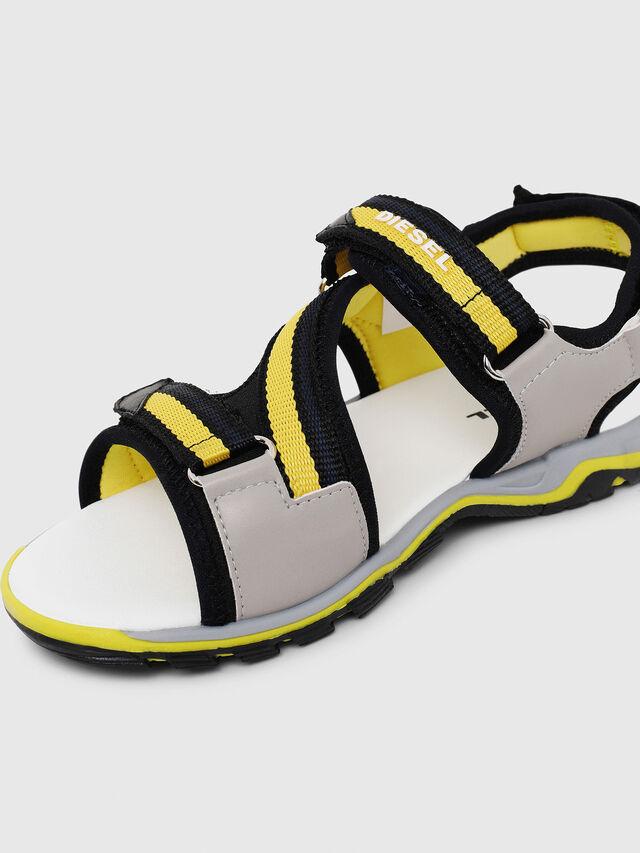 Diesel - SA 07 STRIPE CH, Gray/Black - Footwear - Image 4