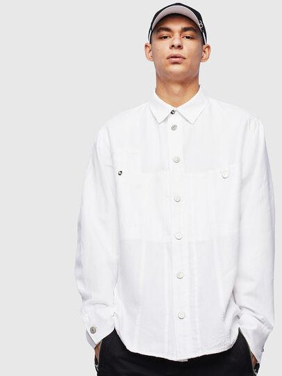 Diesel - D-FLOX,  - Denim Shirts - Image 1