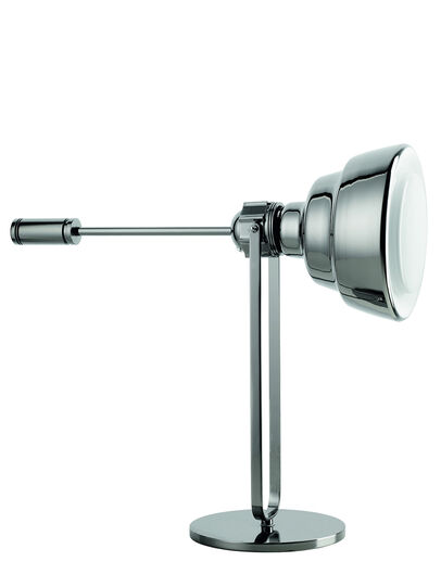 Diesel - GLAS TAVOLO CROMO, Silver - Table Lighting - Image 1