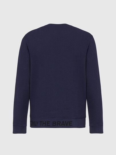 Diesel - S-PEWTER, Dark Blue - Sweaters - Image 3