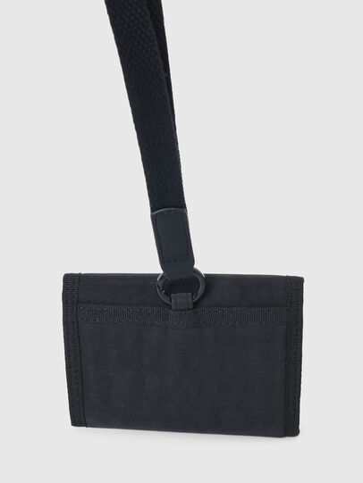 Diesel - YOSHINO LOOP III, Black - Small Wallets - Image 4