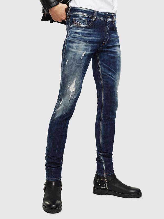 Sleenker 0097L, Dark Blue - Jeans
