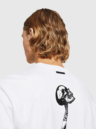 Diesel - TEORIALE-X1, White - T-Shirts - Image 5