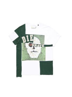 D-FRANKENSTEIN 2.1, White/Green - T-Shirts