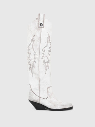 D-GIUDECCA MHB, White - Boots