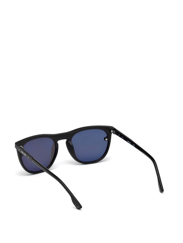 Diesel - DL0217, Black - Sunglasses - Image 2
